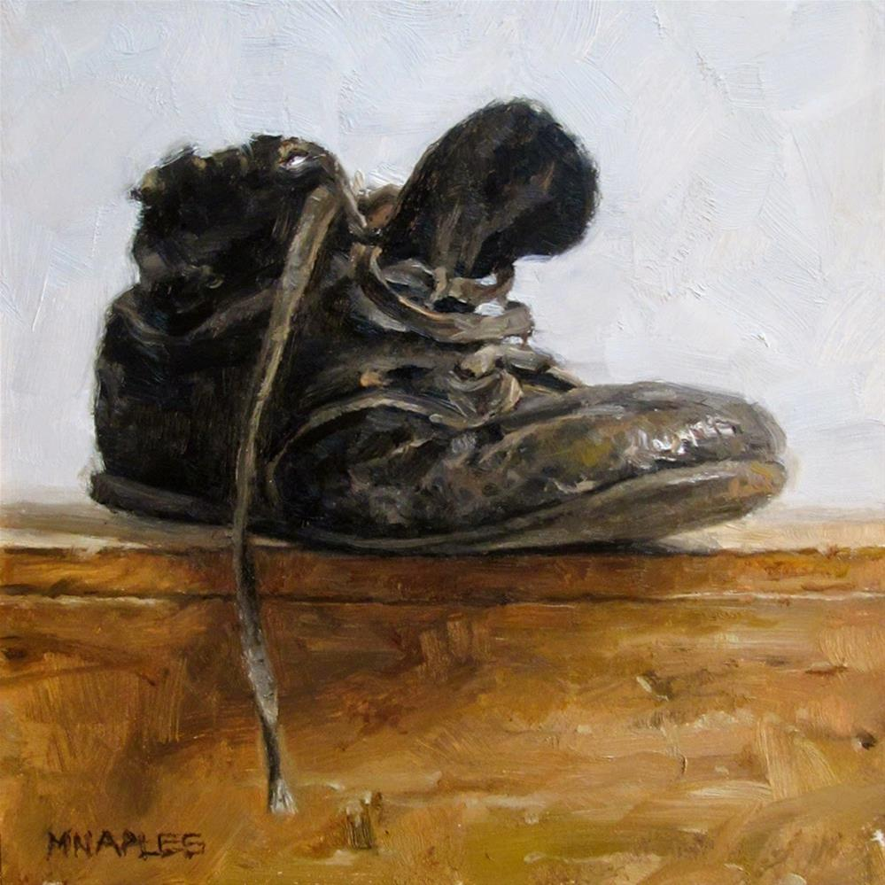 """Antique Baby Shoe"" original fine art by Michael Naples"