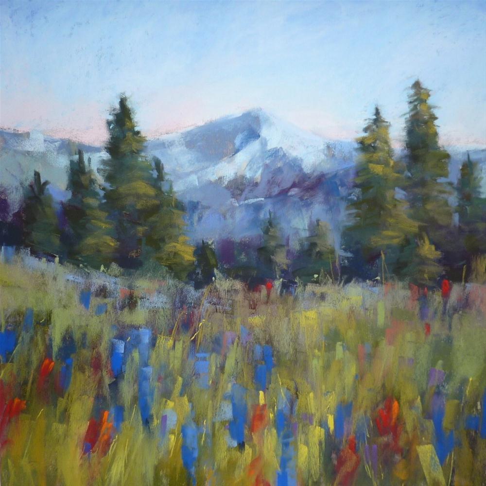 """Yankee Boy Basin Wildflowers...Trip of a Lifetime!"" original fine art by Karen Margulis"