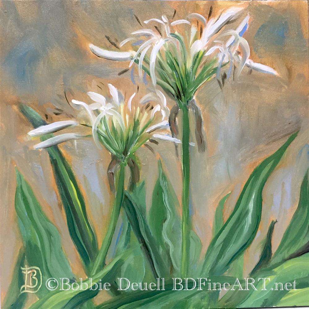"""""""#43 Afternoon Flower"""" original fine art by Bobbie Deuell"""