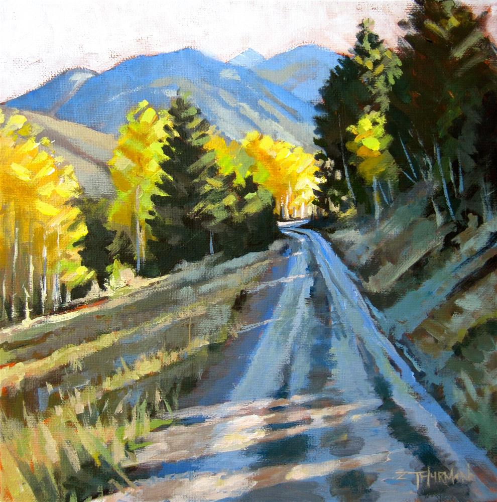 """Pioneer Shadows"" original fine art by Zack Thurmond"