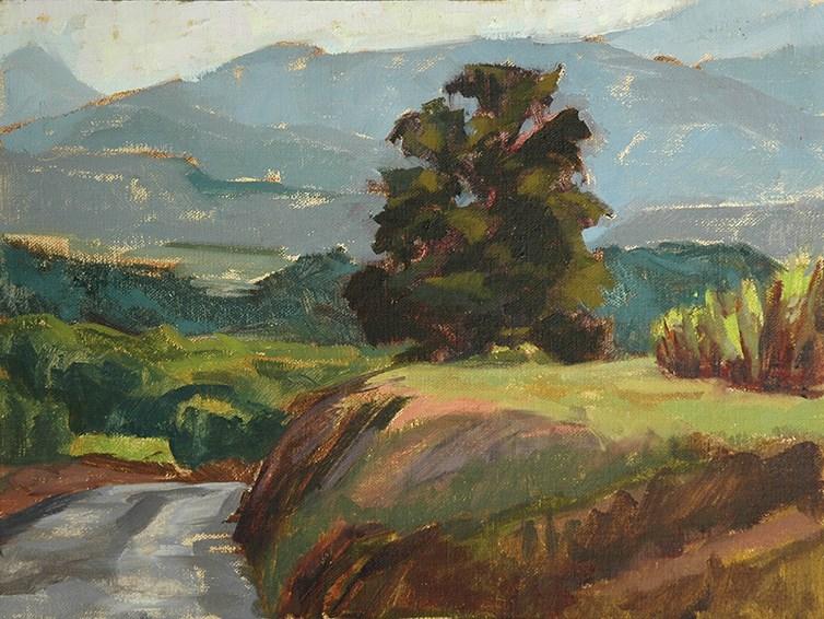 """Provence, France."" original fine art by Miriam Hill"