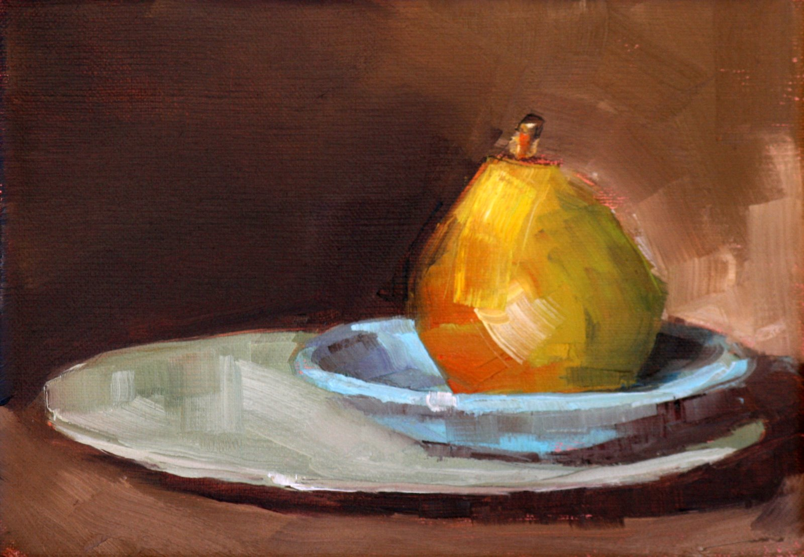 """A little time"" original fine art by Carol Carmichael"