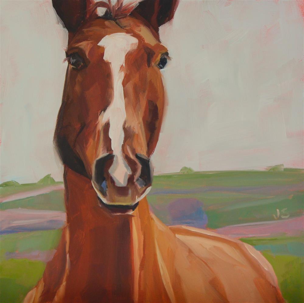 """Some Kind of Brown"" original fine art by Jamie Stevens"