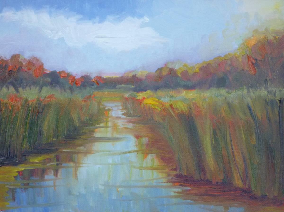 """""""Fall at Grassy Creek"""" original fine art by Shawn Deitch"""