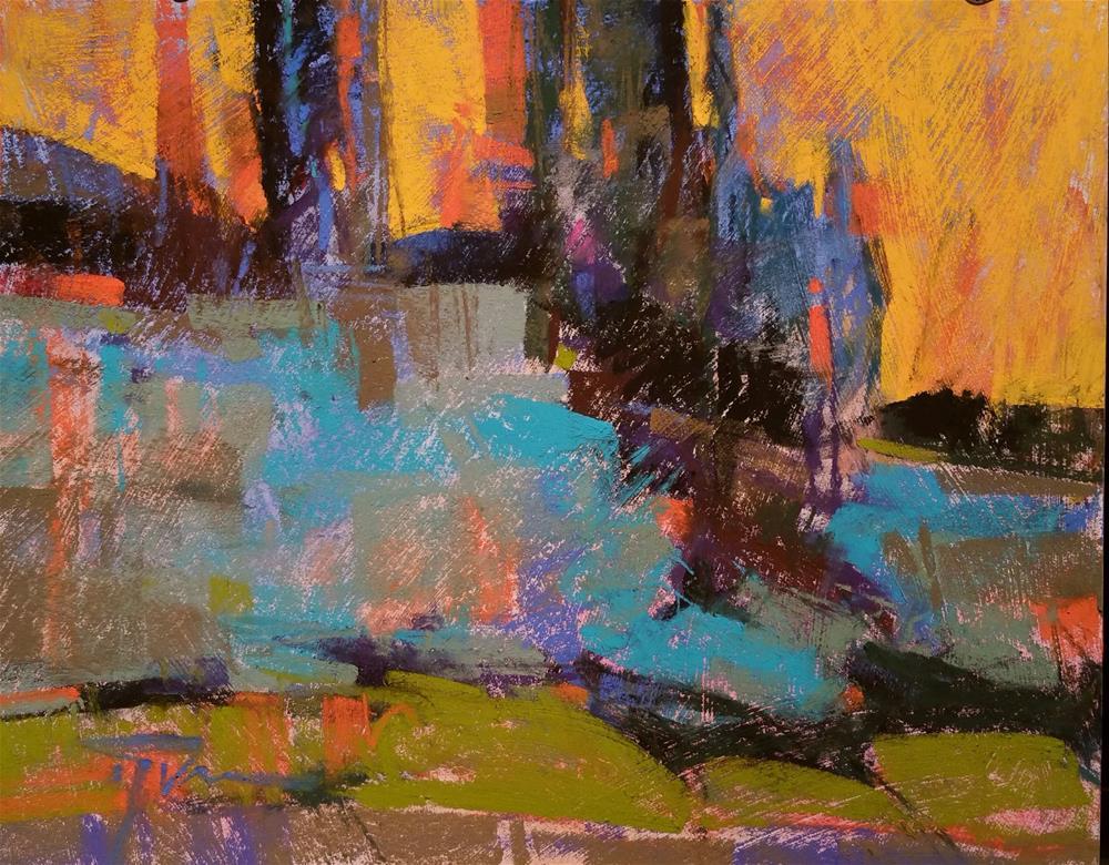 """Edge of Lonely"" original fine art by Jennifer Evenhus"
