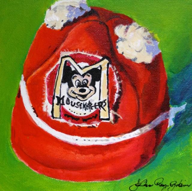 """Club Member"" original fine art by JoAnne Perez Robinson"