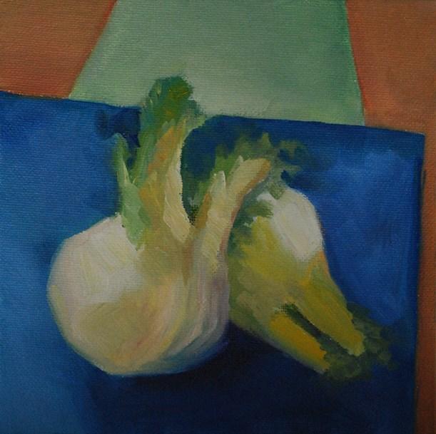 """Fennel Study"" original fine art by J M Needham"