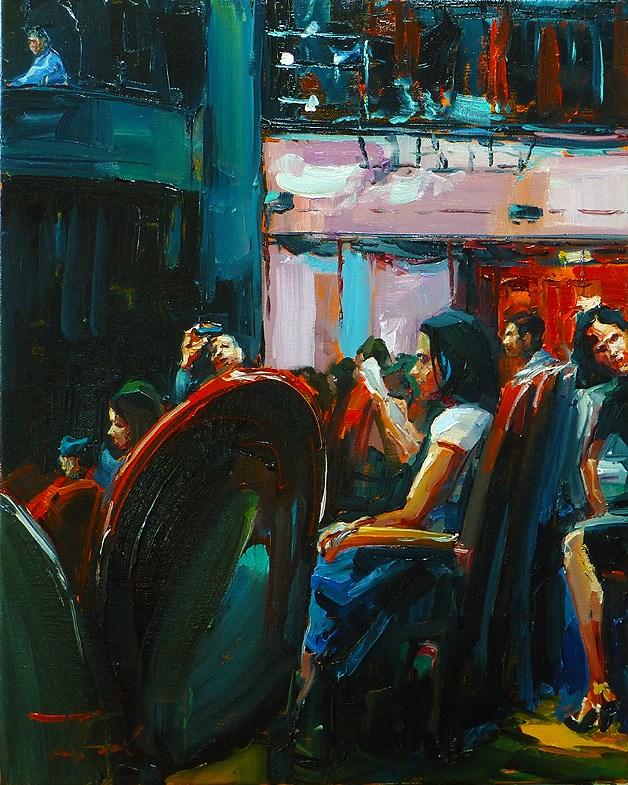 """""""in anticipation"""" original fine art by Jurij Frey"""