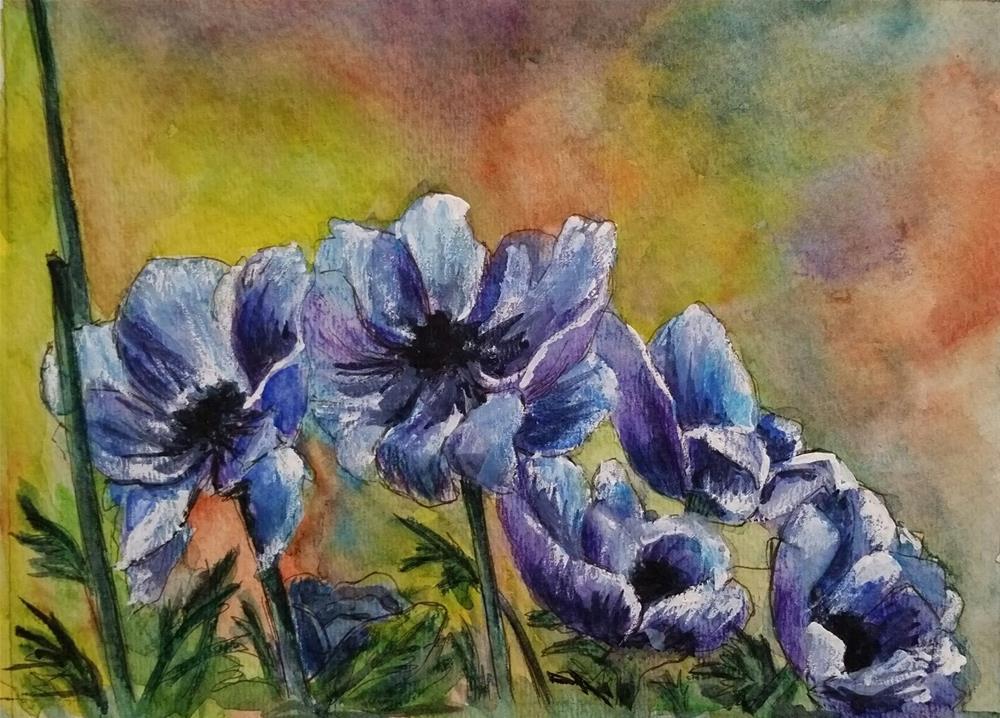 """Spring"" original fine art by Gabriella DeLamater"