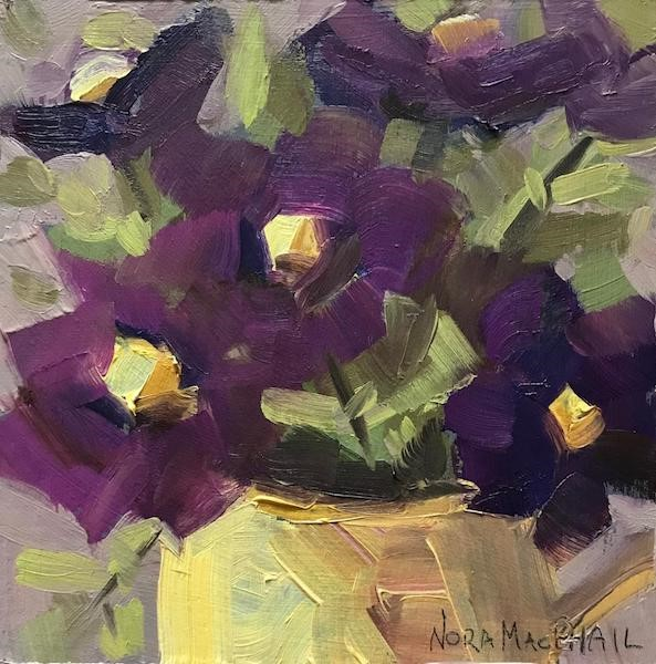 """springy"" original fine art by Nora MacPhail"
