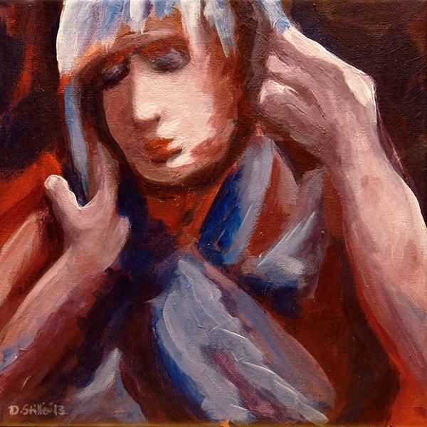 """""""0554 Marianne"""" original fine art by Dietmar Stiller"""