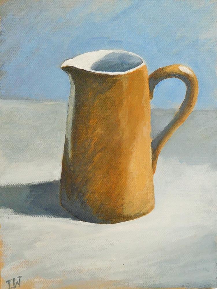 """Brown Jug"" original fine art by Daryl West"
