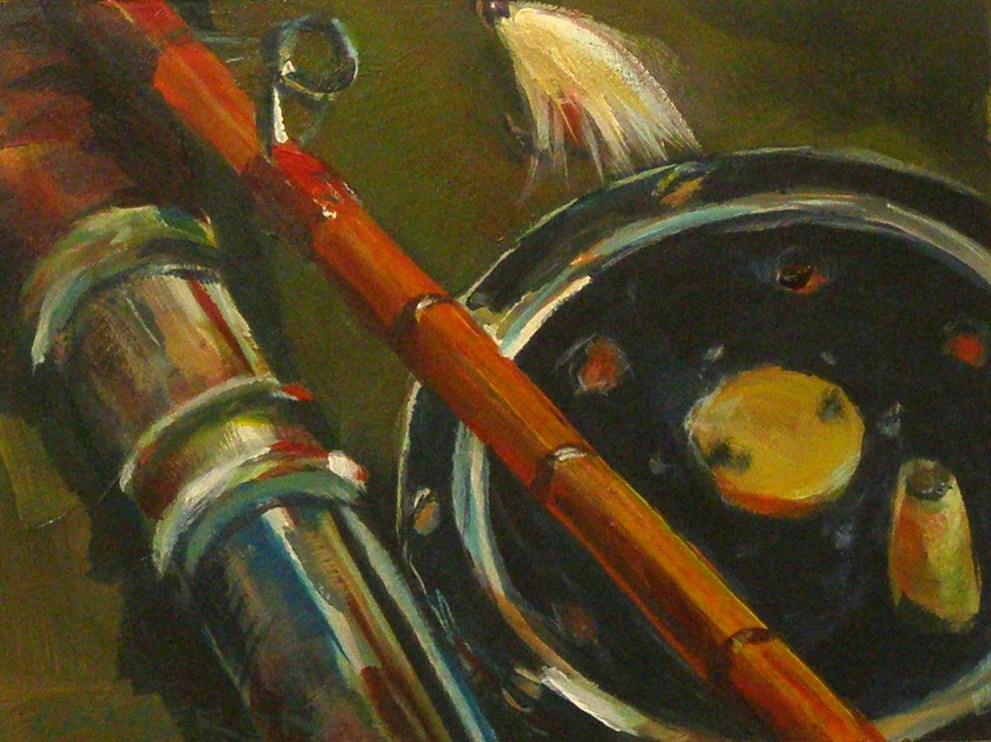 """""""THE OLD MAN'S RIG"""" original fine art by Brian Cameron"""