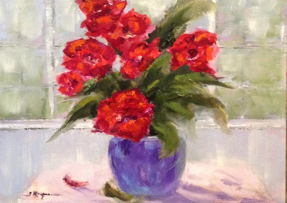 """""""Flower Study"""" original fine art by Shelley Koopmann"""