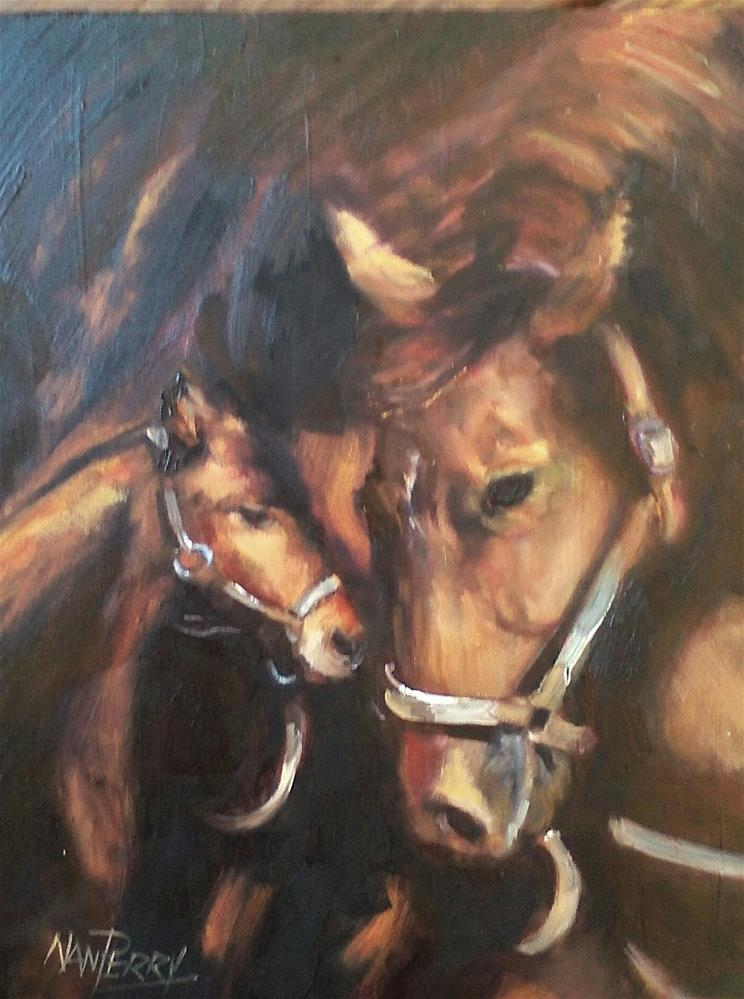 """A Quiet Moment"" original fine art by Nan Perry"