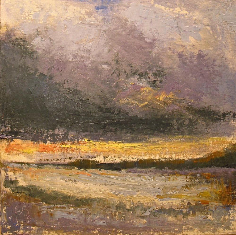 """Early to the Cold"" original fine art by Aurelio Saiz"