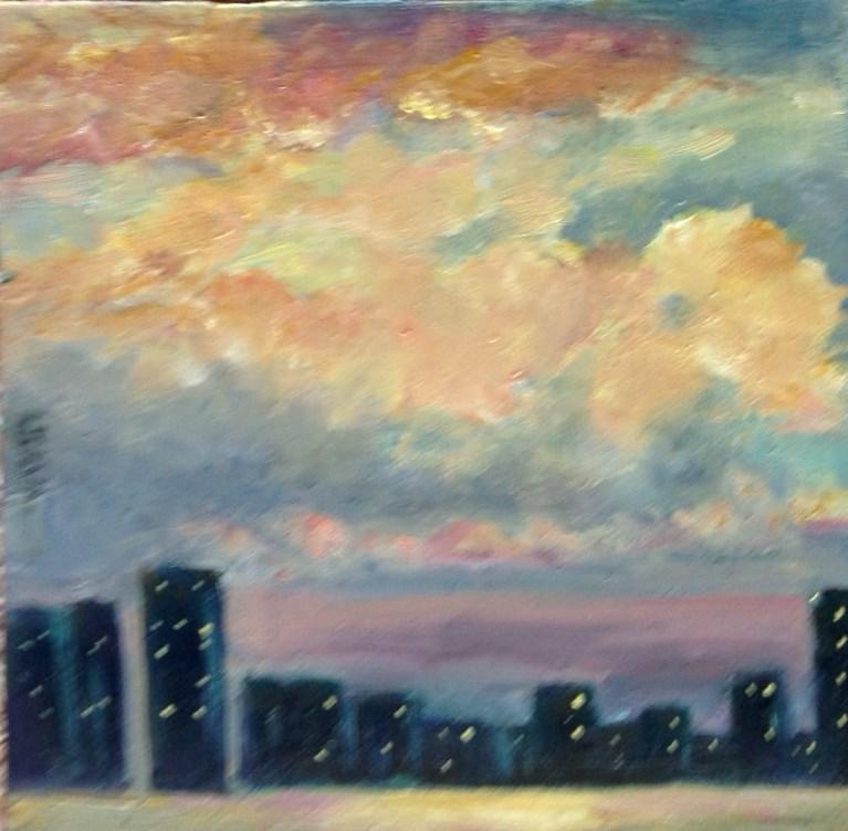 """Final Display"" original fine art by Judy Usavage"