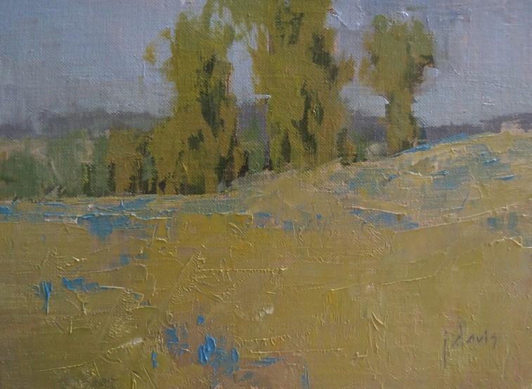 """Early April"" original fine art by Julie Davis"
