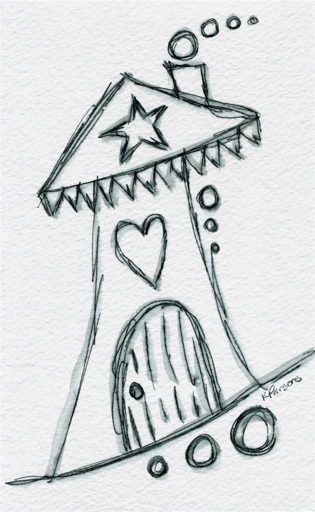 """""""Love in da House"""" original fine art by Kali Parsons"""