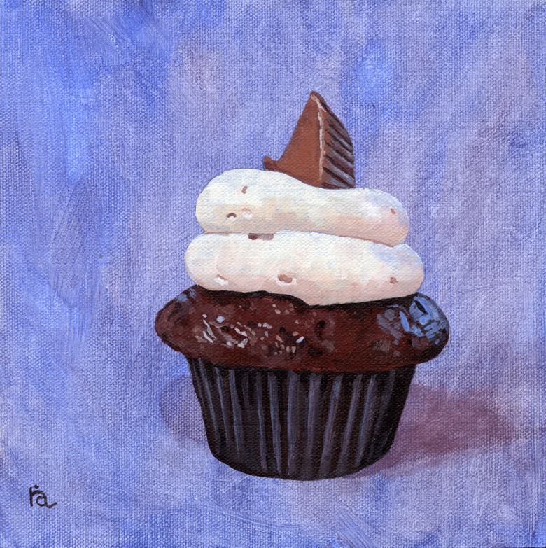 """Orgasmic Pastry"" original fine art by Ria Hills"