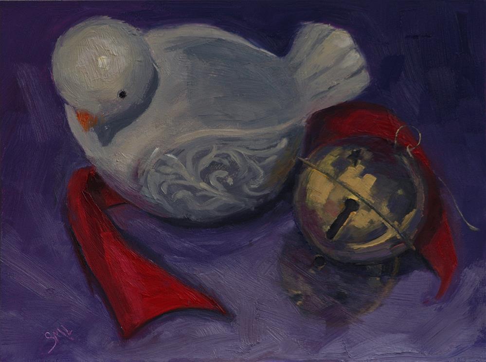 """A Little Girl's Treasure"" original fine art by Sheila Marie"
