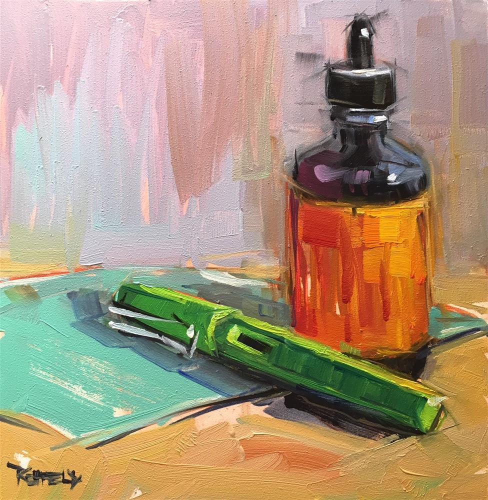 """Pen and Ink"" original fine art by Cathleen Rehfeld"