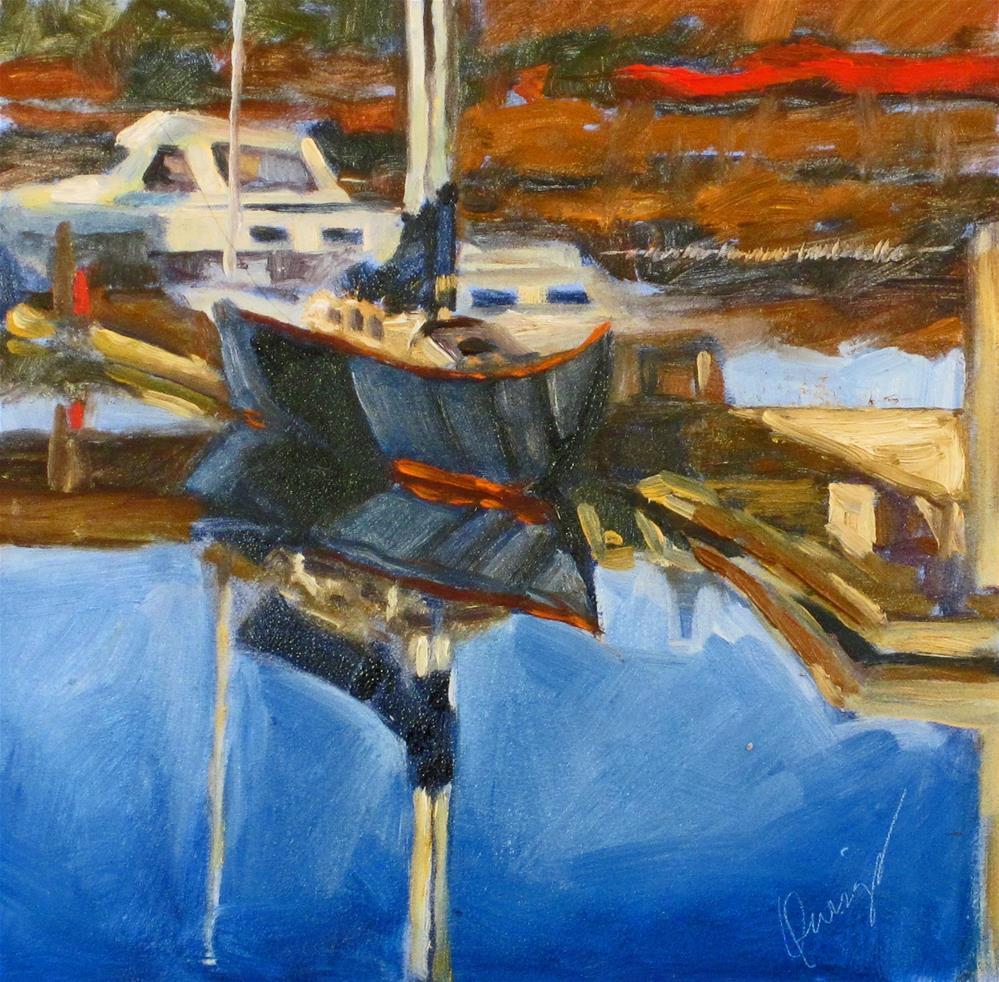 """""""Petaluma #"""" original fine art by Sharman Owings"""