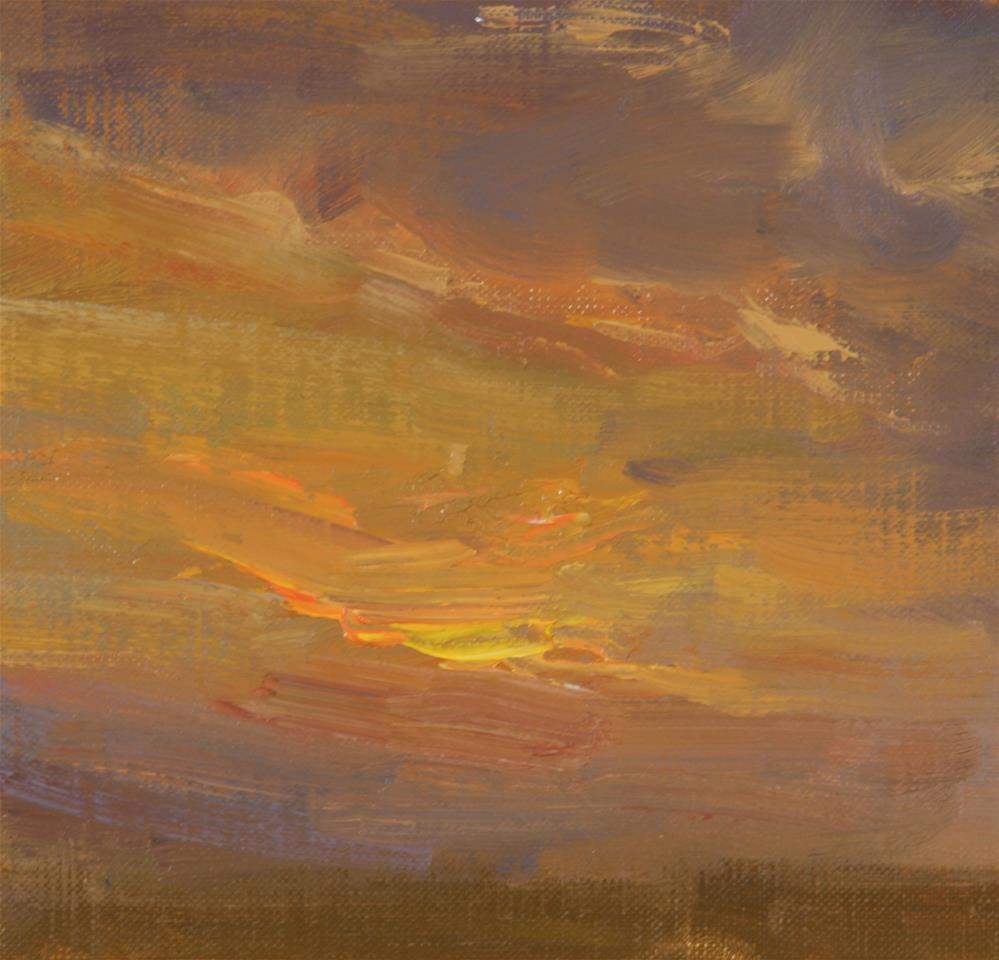 """Summer Sunrise 16"" original fine art by Scott Serafica"