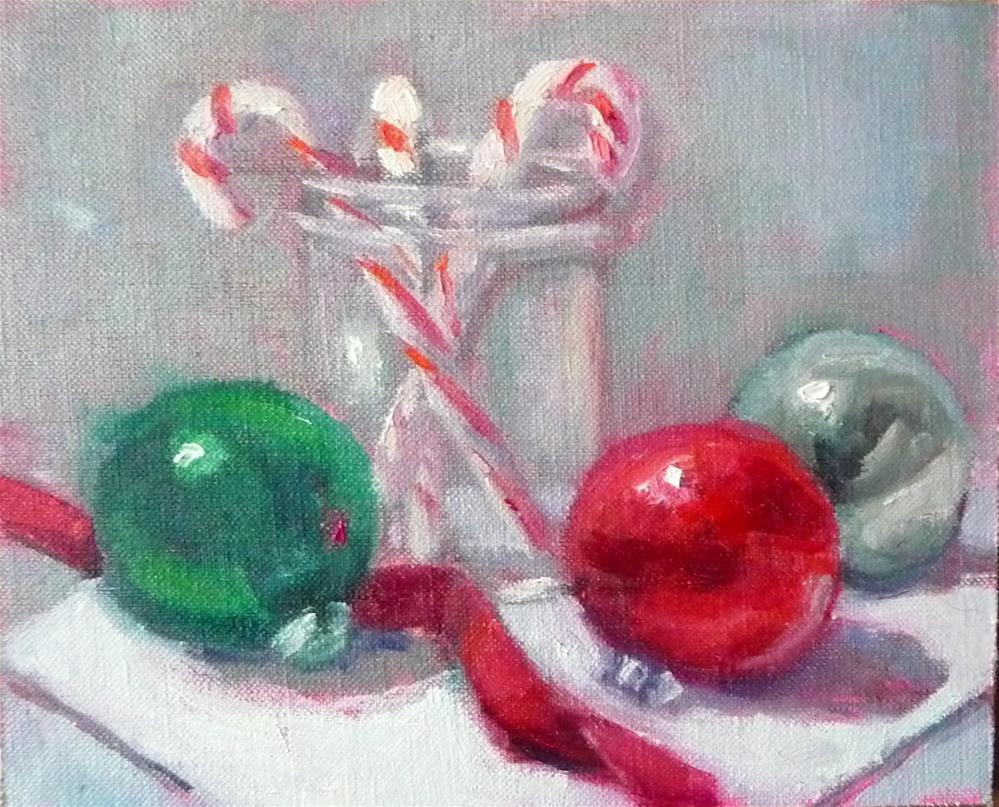 """Holidays"" original fine art by Carol Josefiak"