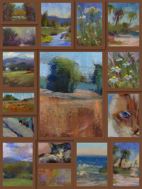 """A Recommended Pastel Set for Painting on the Go"" original fine art by Karen Margulis"