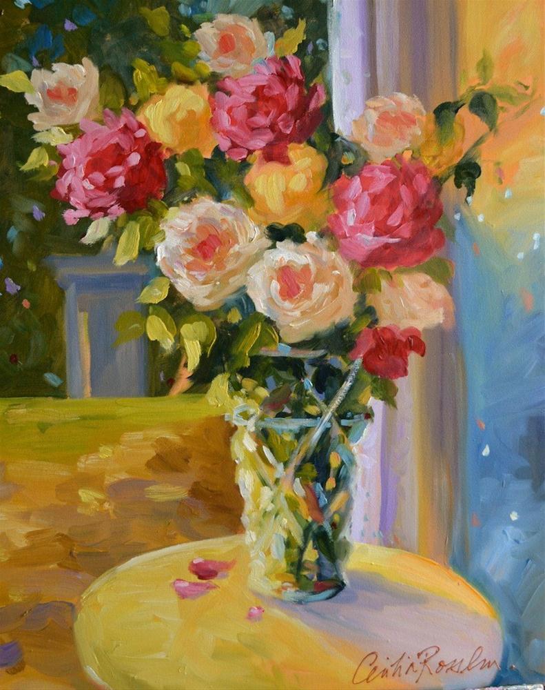 """SPILHAUSE VASE"" original fine art by Cecilia Rosslee"