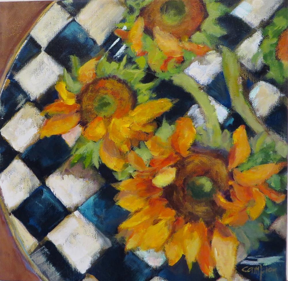 """787 Still Sunny"" original fine art by Diane Campion"