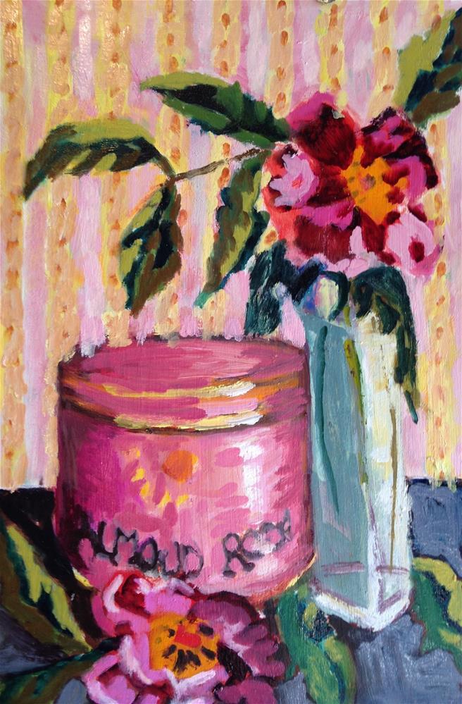 """Almond Roca"" original fine art by Pamela Hoffmeister"