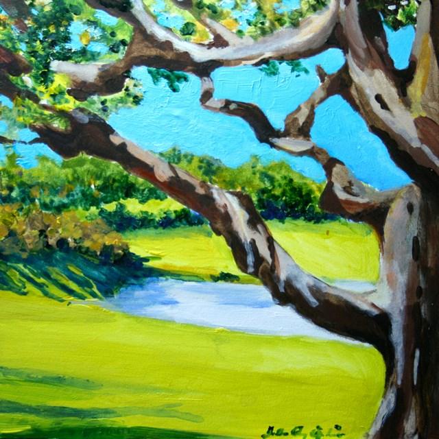 """Nature's Window"" original fine art by JoAnne Perez Robinson"