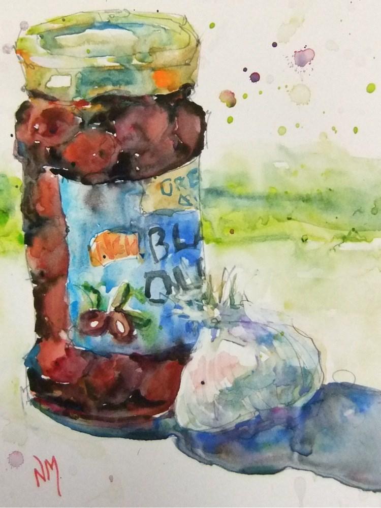 """keep it simple"" original fine art by Nora MacPhail"