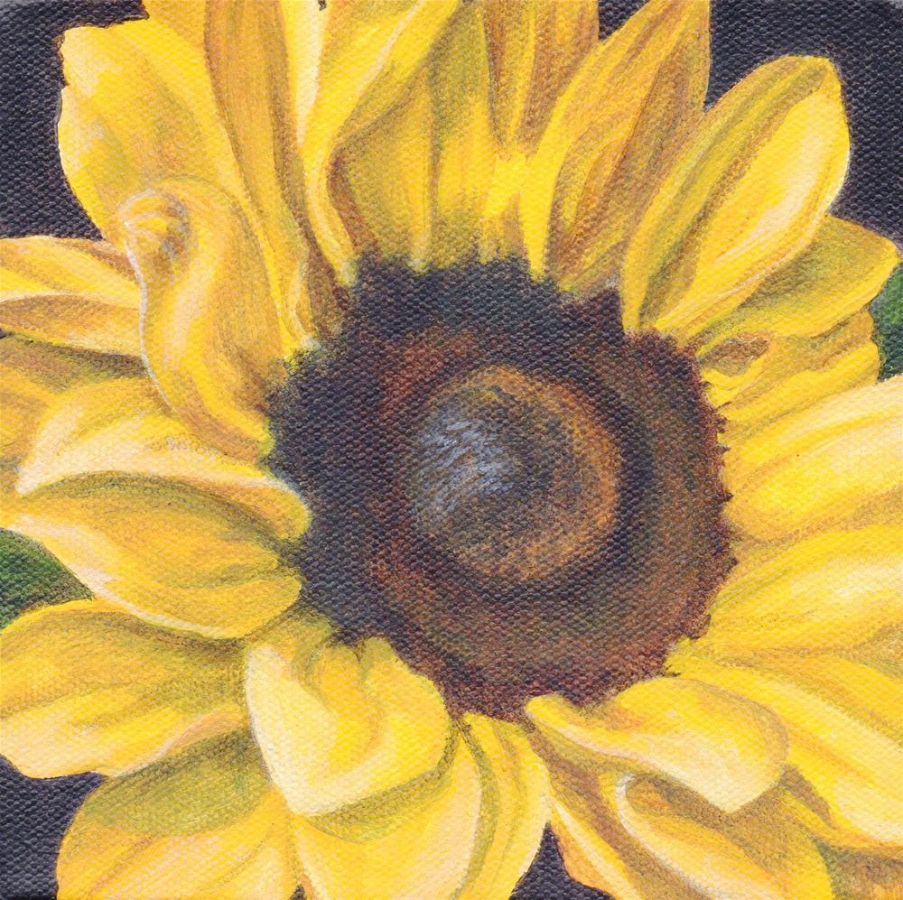 """Pocketful of Sunshine"" original fine art by Debbie Shirley"
