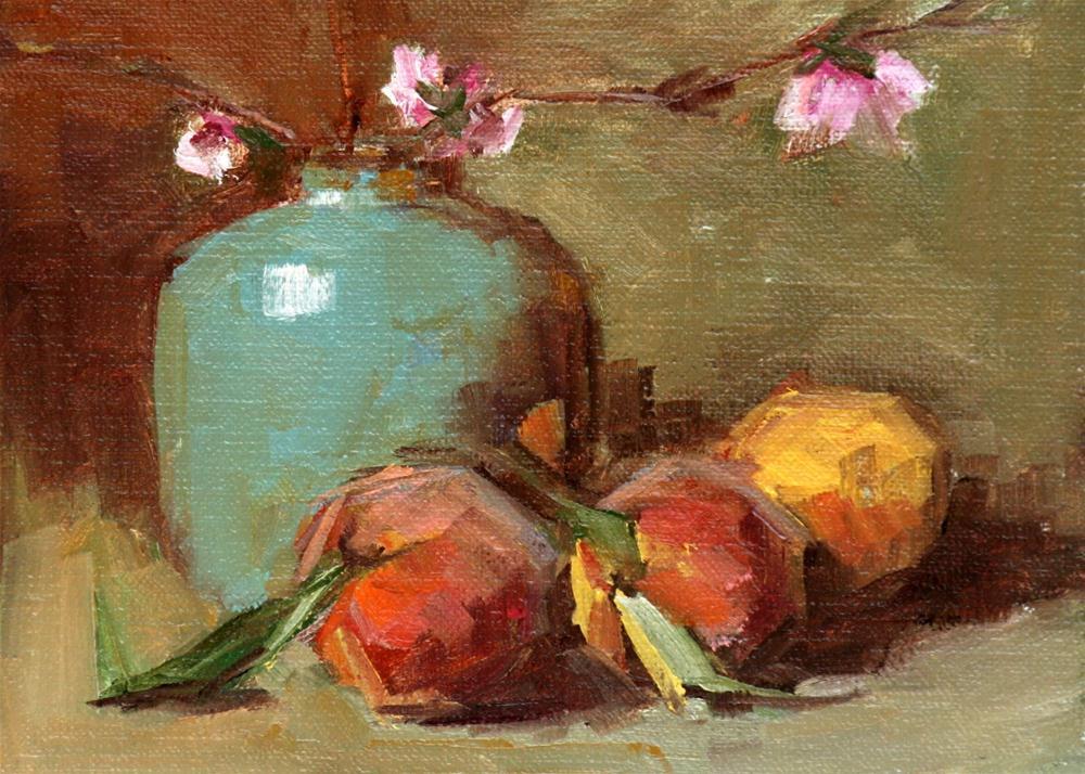 """Chilton's bounty"" original fine art by Carol Carmichael"