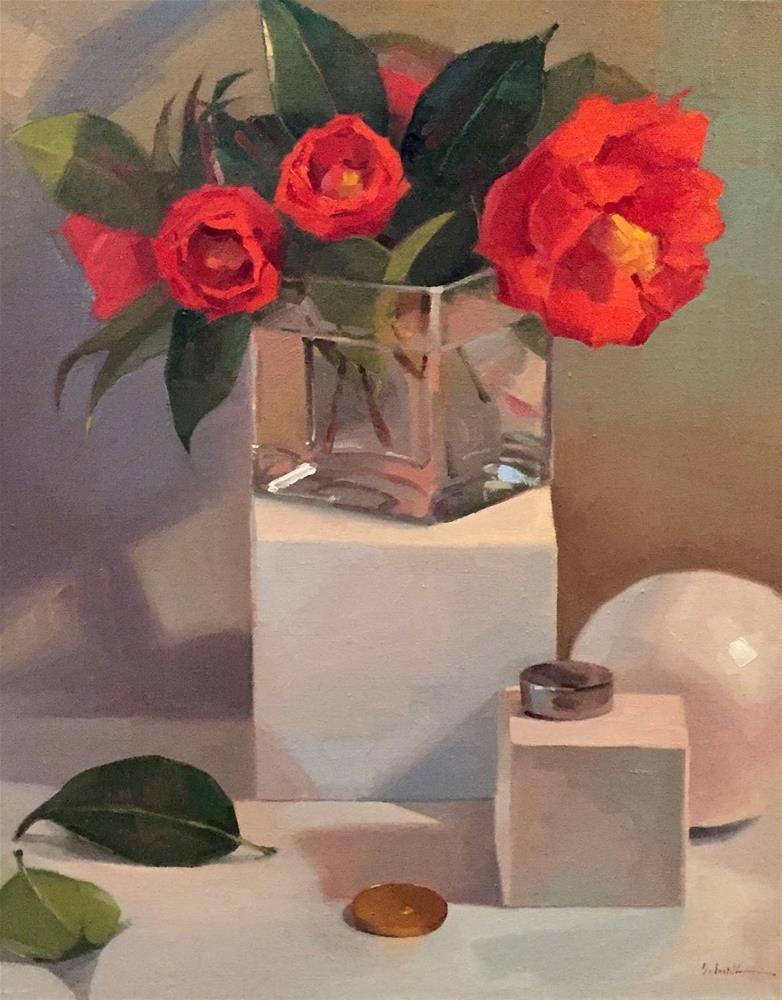 """On A Pedestal"" original fine art by Sarah Sedwick"