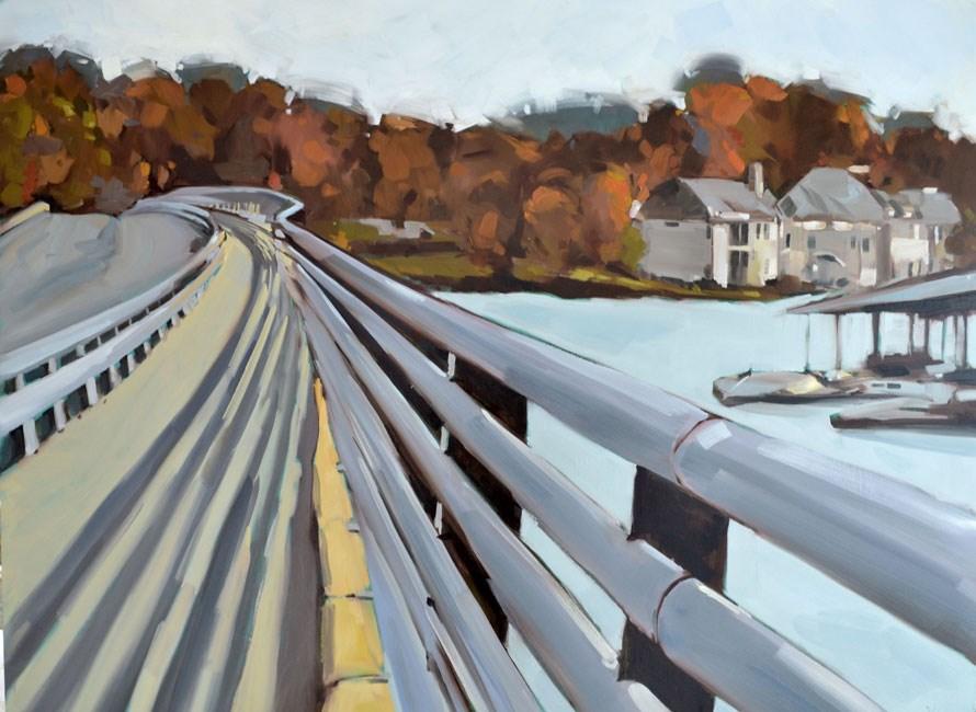 """""""Bridging Geist"""" original fine art by Jessica Green"""