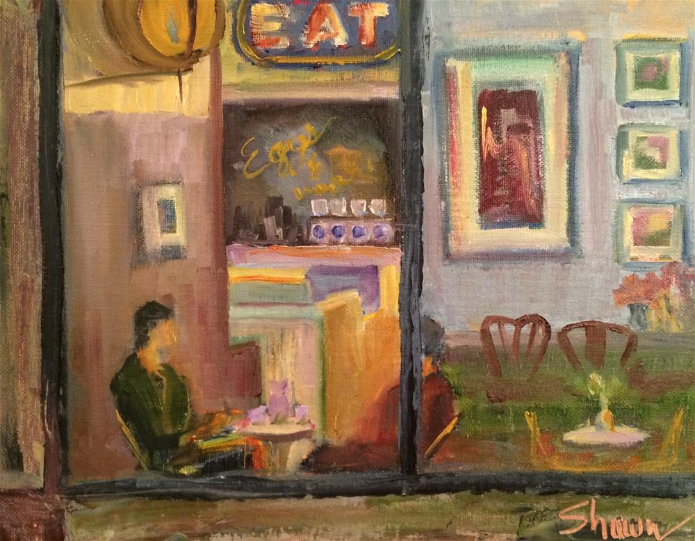 """Breakfast Envy"" original fine art by Shawn Deitch"
