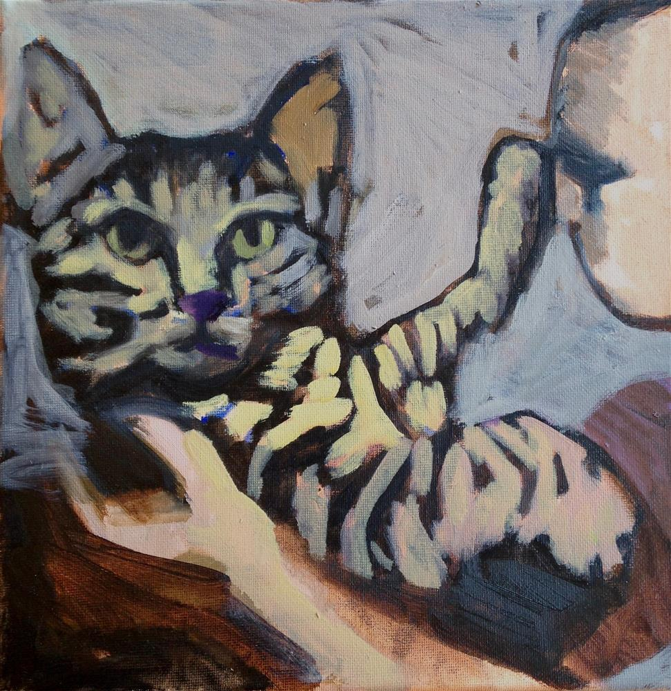 """""""I'm Ready For My Close-Up...Not Yours"""" original fine art by Pamela Hoffmeister"""