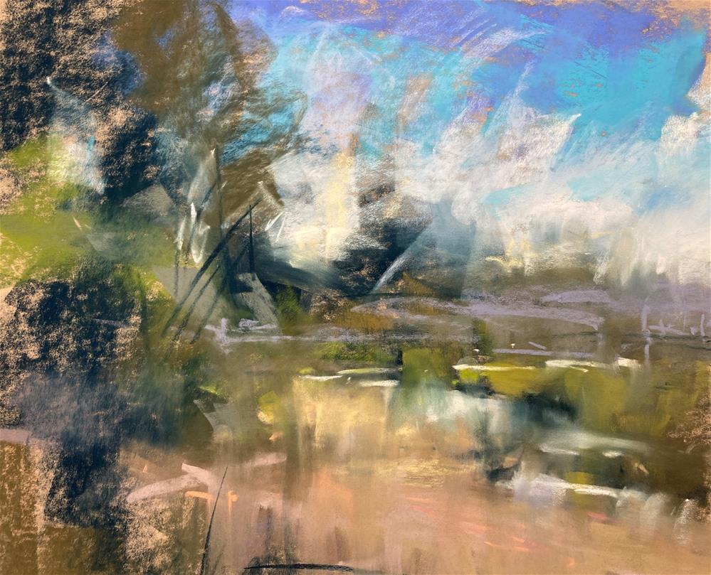 """""""Sun Drenched"""" original fine art by Marla Baggetta"""