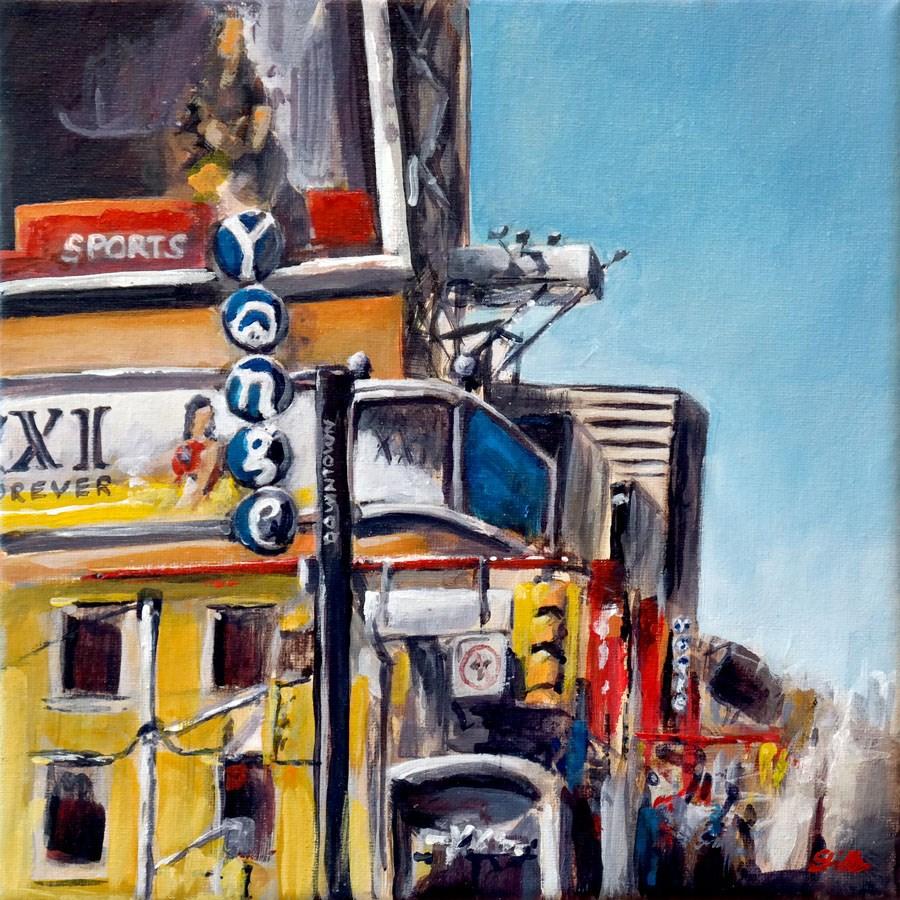 """""""1430 XXI"""" original fine art by Dietmar Stiller"""