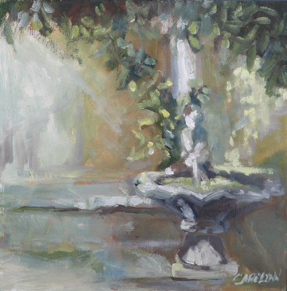 """Late Afternoon Light"" original fine art by Carolynn Doan"