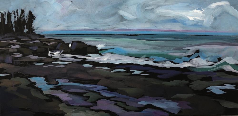 """Superior At Artists Point"" original fine art by Kat Corrigan"