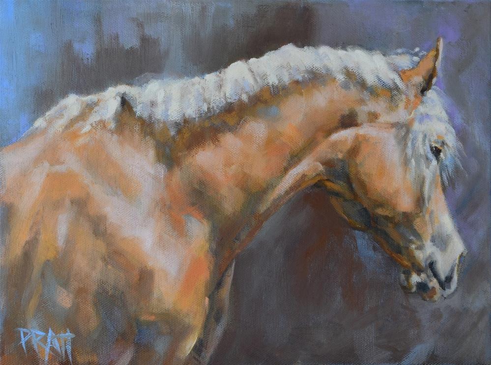 """Catnap"" original fine art by Jennifer Pratt"