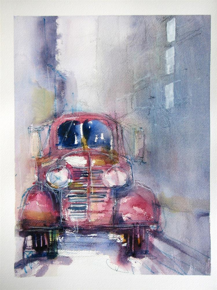 """""""Farmers Market"""" original fine art by jeffrey kasbohm"""