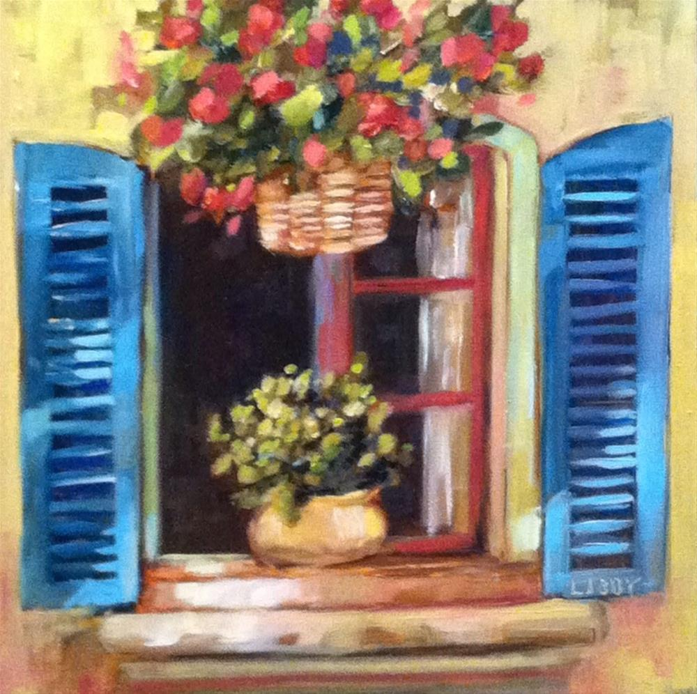 """Fresh Air"" original fine art by Libby Anderson"