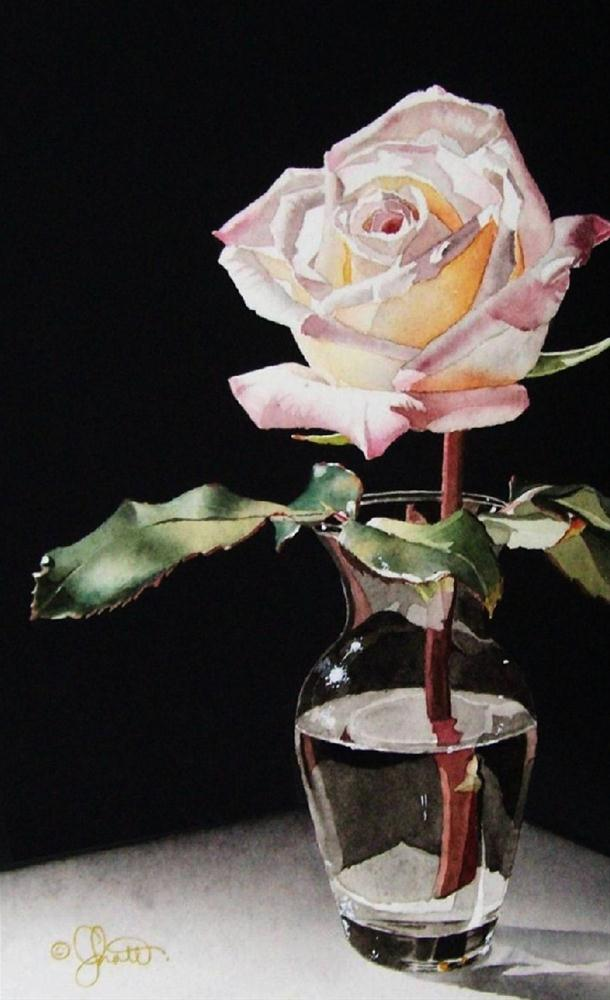 """""""Sparkle!"""" original fine art by Jacqueline Gnott, TWSA, WHS"""