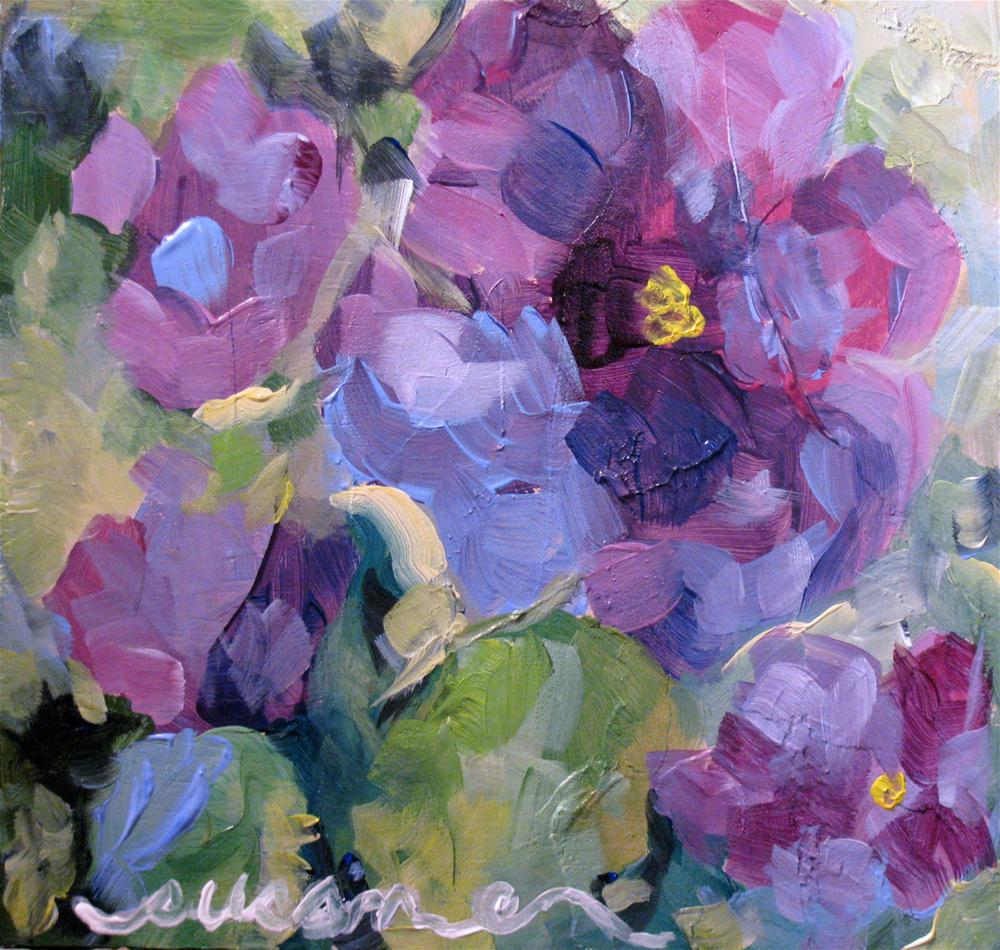 """Infatuation"" original fine art by Susan Elizabeth Jones"